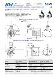 Solid Shaft Programmable Resolution - Industrial Solutions Ltd.