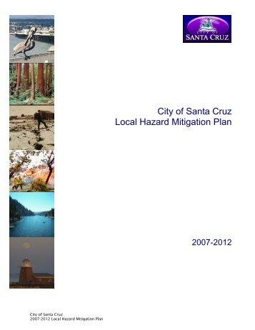Santa Cruz - Hazard Mitigation Web Portal - State of California