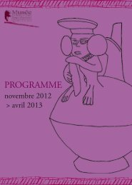 PROGRAMME - Musee-archeologienationale-amis.fr
