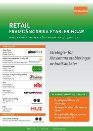 framgångsrika etableringar retail - Conductive