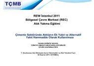 Sürdürülebilir Çimento Üretimi - REC Türkiye