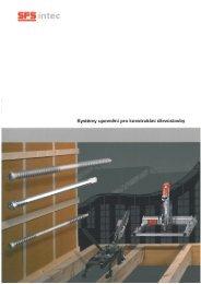 Systémy upevnění pro konstrukční dřevostavby