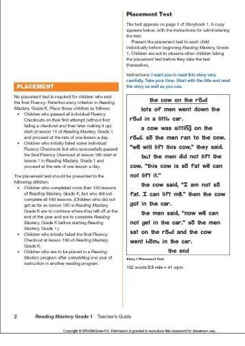 Grade 1 (reading) - McGraw-Hill Australia