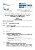 Lecciones sobre la construcción de la paz a nivel regional ... - Futuros - Page 5