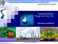 ADVANCED ENGINEERING SOLUTIONS INC. Engineering ...