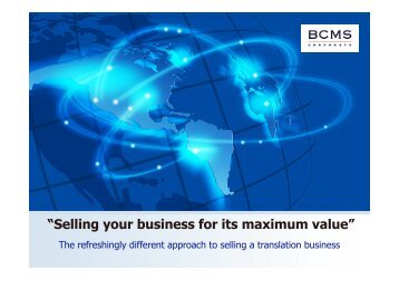 Malcolm Murray - Association of Translation Companies