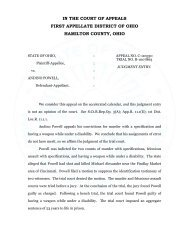 State v. Powell - Hamilton County, Ohio