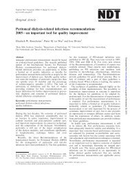 Peritoneal dialysis-related infections recommendations 2005—an ...