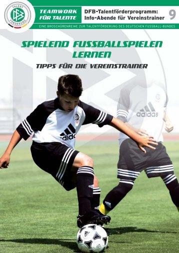 SPIELEND FUSSBALLSPIELEN LERNEN - FV Griesheim