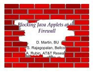 Blocking Java Applets at the Firewall