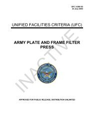 UFC 3-280-03 Army Plate and Frame Filter Press - The Whole ...