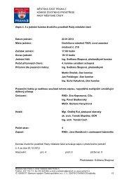 Zápis č. 5 z jednání komise životního prostředí Rady ... - Praha 3