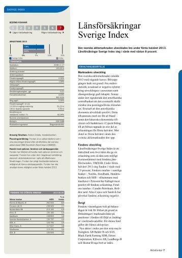 Länsförsäkringar Sverige Index
