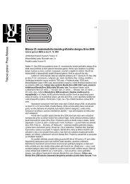 Tisková zpráva / Press Release
