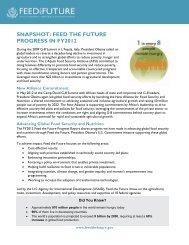 KENYA FACT SHEET - Feed the Future