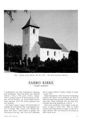 SABRO KIRKE - Nationalmuseet