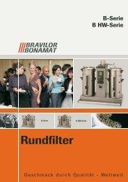 PDF-Prospekt Bonamat Rundfilter - Badorf