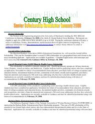 January 2008 - Carroll County Public Schools