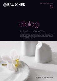 Prospekt - Bauscher Porzellan, Form Dialog - Badorf