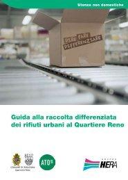 Brochure informativa quartiere Reno - Il Gruppo Hera