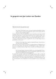 In gesprek met Jan Luiten van Zanden - NEHA