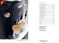 PDF-Prospekt Jura Impressa XF50 - Badorf