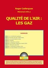 QUALITÉ DE L'AIR : LES GAZ