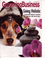 Grooming Business Magazine - Earthbath