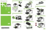 HP LaserJet 1018 Getting Started Guide - XLWW