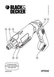 HP9048 - Service - Black and Decker