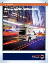 Choose a solution that illuminates. - Osram Sylvania