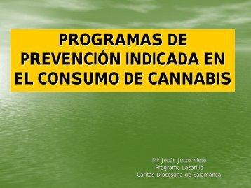 Programas de Prevención Indicada - Plan Nacional sobre drogas