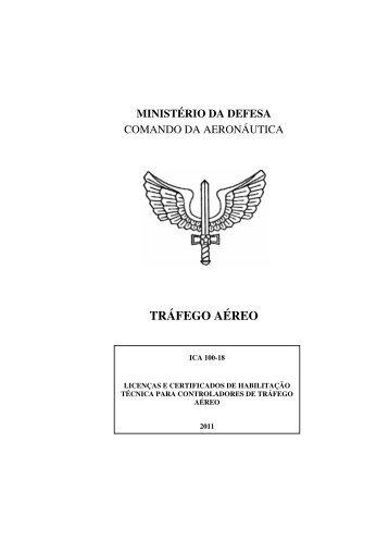 TRÁFEGO AÉREO - Tarifas de Navegação Aérea - DECEA