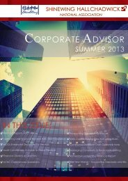 Corporate Advisor Summer 2013.pdf - Hall Chadwick