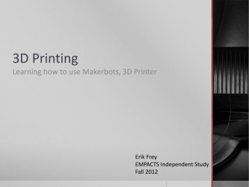 3D Printing - Faculty Web Pages - Northwest Arkansas Community ...