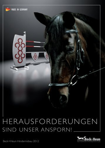 Prosp. Hindernisbau2012.indd - Lupa Iberica