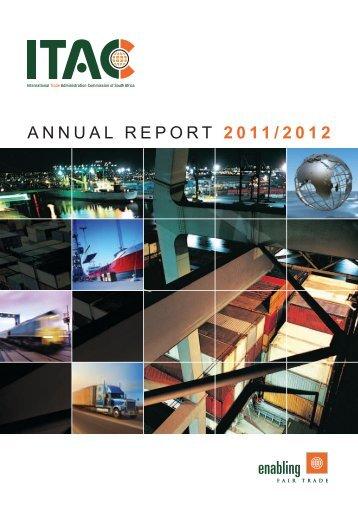 ITAC Annual Report 2011-2012.pdf - International Trade ...