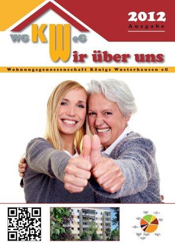 Geburtstag - Wohnungsgenossenschaft KW eG