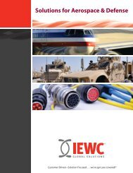 Solutions for Aerospace & Defense - Iewc.co.uk