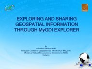 EXPLORING AND SHARING GEOSPATIAL INFORMATION ...