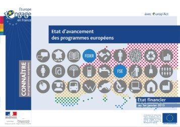 Etat d\'avancement_01-01-13.pdf - Europe en France