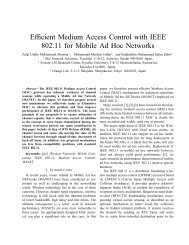Efficient Medium Access Control with IEEE 802.11 ... - System LSI Lab.