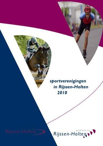 Info Sportraad - Gemeente Rijssen-Holten