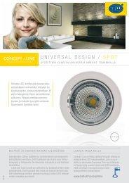 UNIVERSAL DESIGN / SPOT - Taloon.com