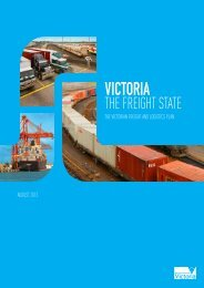 Victoria - The Freight State - Department of Transport