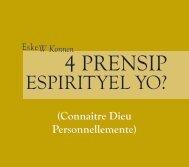 4 PRENSIP - Campus Crusade for Christ