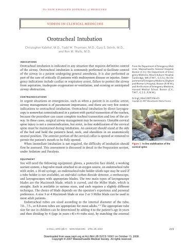 Technique - Abbott Northwestern Hospital Internal Medicine ...