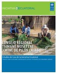(crtm) de pilón lajas - Equator Initiative