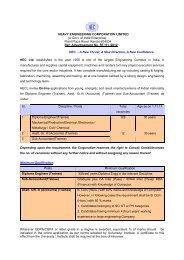 Trainee - Heavy Engineering Corporation Limited