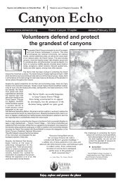 Jan/Feb 2003 (3.1 MB pdf) - Arizona Sierra Club